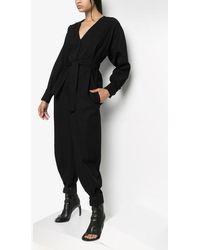 Givenchy ベルテッド ジャンプスーツ - ブラック