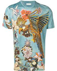Etro T-shirt à imprimé botanique