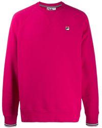 Fila Толстовка Свободного Кроя С Логотипом - Розовый