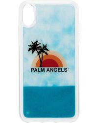 Palm Angels IPhone XS Max-Hülle mit Sonnenuntergang - Weiß