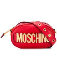 Moschino Heuptas Met Logoplakkaat - Rood