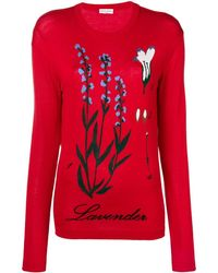 Sonia Rykiel Knitted Jumper - Red