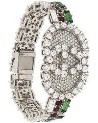 Gucci - Monogram Bracelet - Lyst