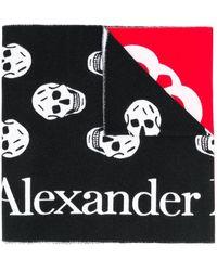 Alexander McQueen - パッチワーク スカーフ - Lyst