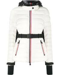 3 MONCLER GRENOBLE キルティング パデッドジャケット - ホワイト
