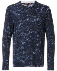 Michael Kors - Foliage Print Sweatshirt - Lyst