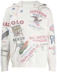 Polo Ralph Lauren American パーカー - グレー