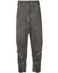 Lost and Found Rooms - Drop-crotch Cropped Trousers - Lyst