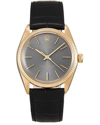 Rolex 1977 Pre-owned Oyster Perpetual 34mm - Gray