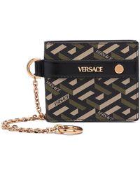 Versace Portemonnee Met Print - Groen