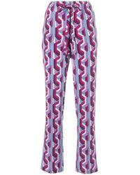 Gucci - Web Chain Print Pajama Trousers - Lyst