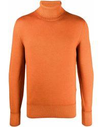 Drumohr タートルネック セーター - オレンジ