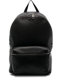 Calvin Klein Mochila con logo en relieve - Negro
