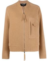 Rochas Zipped Fitted Jacket - Multicolor