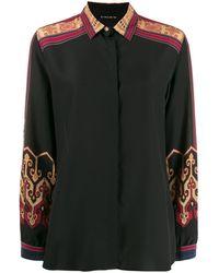 Etro プリントシャツ - ブラック
