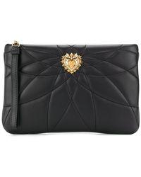 Dolce & Gabbana Devotion クラッチバッグ - ブラック
