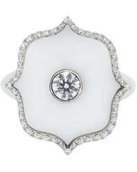 Bayco ダイヤモンド リング プラチナ - ホワイト