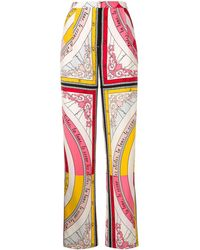 Tory Burch Casual Trousers - Pink