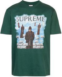 Supreme Levitation Print T-shirt - Green
