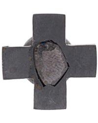 Parts Of 4 Boucle d'oreille Plus - Noir