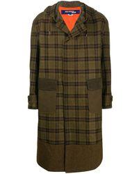 Junya Watanabe オーバーサイズ パーカーコート - ブラウン