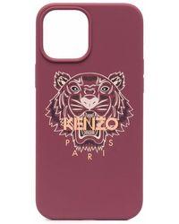 KENZO タイガー Iphone 12 Pro Max ケース - ピンク