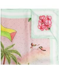 CASABLANCA Платок Surf Club - Розовый