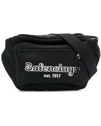 Balenciaga Поясная Сумка Explorer - Черный