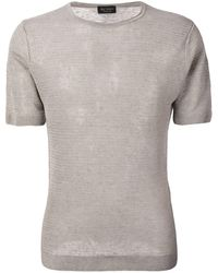 Dell'Oglio Knitted Crewneck T-shirt - Green