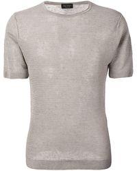 Dell'Oglio - クルーネック Tシャツ - Lyst