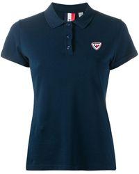 Rossignol Piqué Polo Shirt - Blue