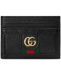Gucci Ophidia GG Pasjeshouder - Zwart