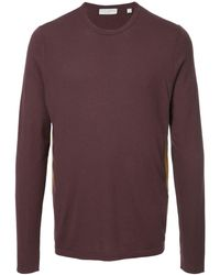 Gieves & Hawkes Paneled Top - Red