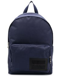 Calvin Klein Zaino con stampa - Blu