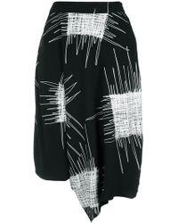 UMA | Raquel Davidowicz - | Printed Wide Bermuda Shorts - Lyst