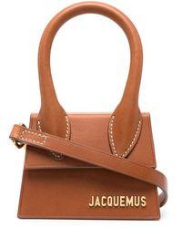 Jacquemus Мини-сумка Le Chiquito - Коричневый