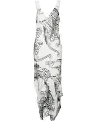 Manning Cartell - Illustrated Paisley Midi Dress - Lyst