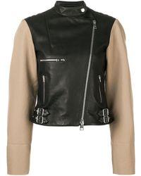 Victoria Beckham ライダースジャケット - ブラック