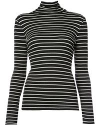 Derek Lam - Long Sleeve Turtleneck Top - Lyst