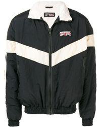 abb9dbdb66b9 Adidas Originals Printed Zip Jacket for Men - Lyst