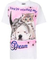 Ashley Williams プリント Tシャツ - ホワイト