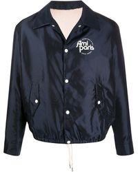 AMI Куртка С Подкладкой Из Шерпы - Синий
