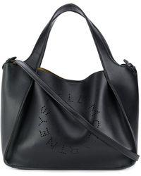 Stella McCartney Stella Draagtas Met Logo - Zwart
