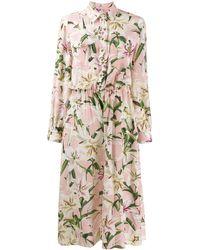 Dolce & Gabbana Combinaison à fleurs - Rose