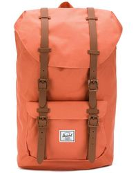 b057fd1b2e8 Lyst - Herschel Supply Co. Little America Medium Backpack in Green ...