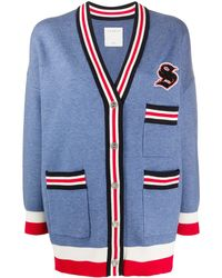Sandro Ted Cardigan - Blue