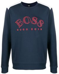 BOSS by Hugo Boss - ロゴ スウェットシャツ - Lyst