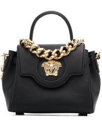 Versace ラ メドゥーサ ハンドバッグ - ブラック