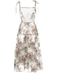 Macgraw - Prairie エンブロイダリー ドレス - Lyst
