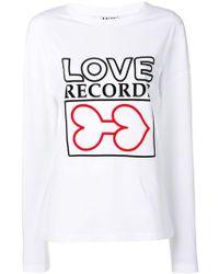 AALTO - Printed Long Sleeve T-shirt - Lyst